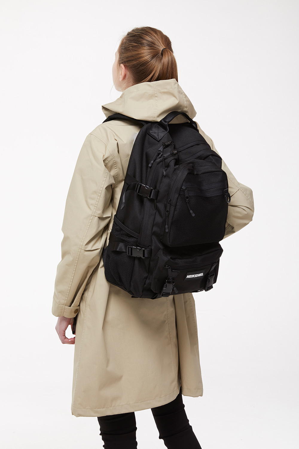 네이키드니스(NEIKIDNIS) PREMIER BACKPACK / BLACK